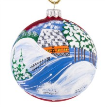 Landscape Christmas Ball
