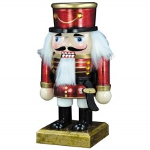 Wooden General Nutcracker