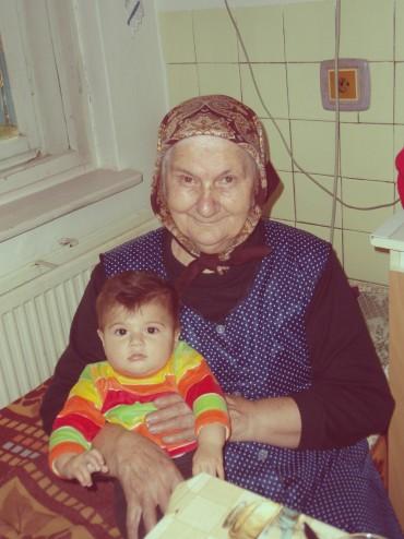 My grandma and my daughter in 2008