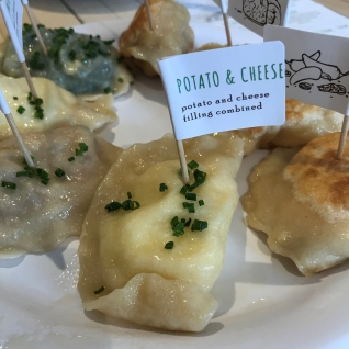 Potato & Cheese pierogi